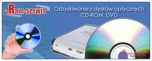 Odzyskiwanie danych z płyt DVD i CD-rom