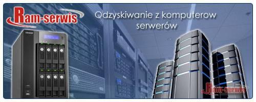 Odzyskiwanie danych z dysków twardych serwerów danych