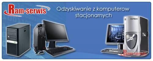 Odzyskiwanie danych z dysków twardych komputerów stacjonarnych